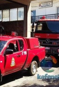 Παραλαβή οχημάτων και αγιασμός στην Πυροσβεστική Υπηρεσία Μεγαλόπολης