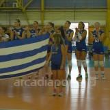 O πρώτος ημιτελικός αγώνας της Εθνικής Ομάδας Βόλεϋ με την Εθνική Ουγγαρίας