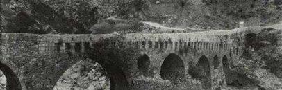 Το γεφύρι της Καρύταινας, φωτογραφία του 1923