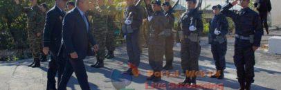 Ο Πάνος Καμμένος  στην τελετή για τον Ήρωα πιλότο Γρ. Βαλκανά  στους Χράνους Μεγαλόπολης