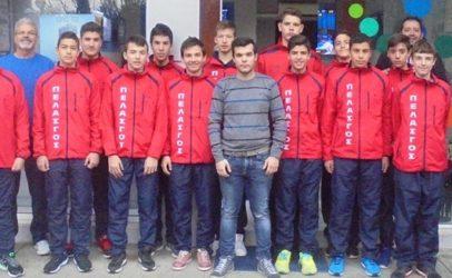 Πελασγός: 2 αγώνες την Κυριακή στην Μεγαλόπολη για Παίδες και Κορασίδες