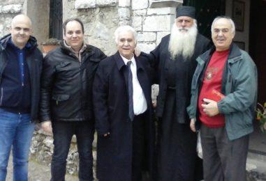 Αρτοκλασία Συνταξιούχων ΟΑΕΕ Μεγαλόπολης στη Μονή της Παναγίας στην Νέα Εκκλησούλα