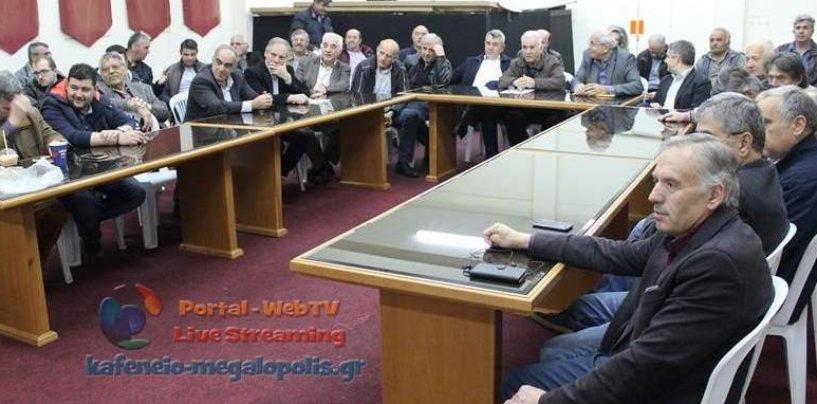 Η εκδήλωση της Δημοκρατικής Συμπαράταξης στη Μεγαλόπολη