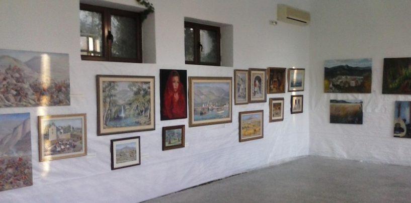 Εγκαίνια έκθεσης ζωγραφικής στον Άκοβο