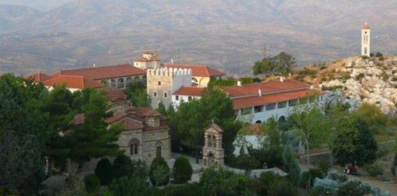 Προσκηνυματική εκδρομή στην Ιερά Μονή Κοιμήσεως Θεοτόκου Μπούρα