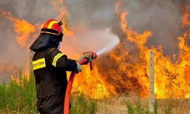 Έβαλε 2 φωτιές σε χωριά της Μεγαλόπολης και συνελήφθη στην Μεσσηνία
